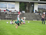 Erste Runde der Faustball U12 mixed in Arnreit